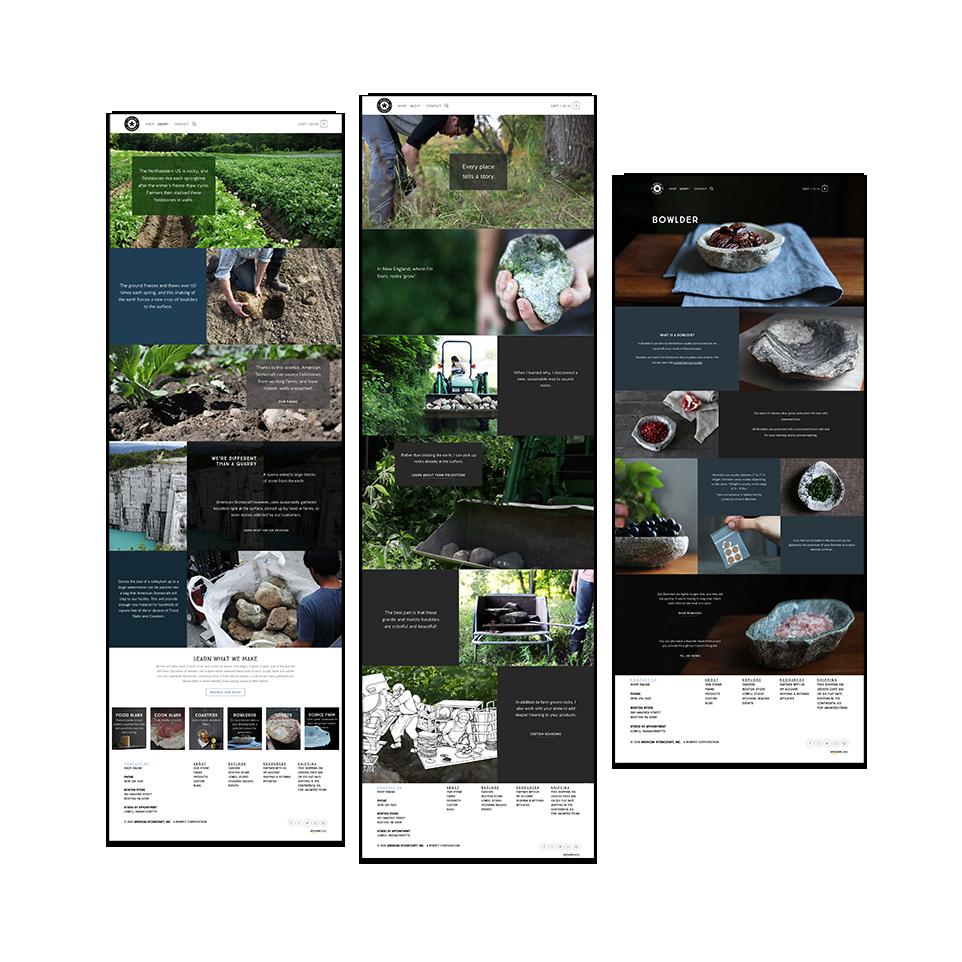 American Stonecraft website