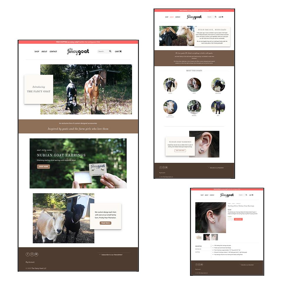 The Fancy Goat Website